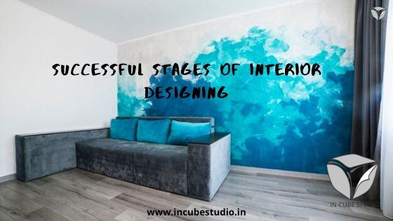 Interior design stages